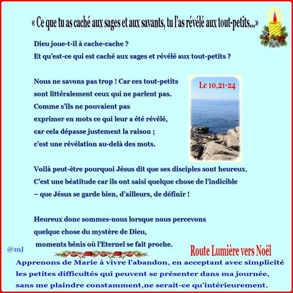 """#Avent2015 """"Méditation jour aprés jour 1ème semaine"""" 74777101"""