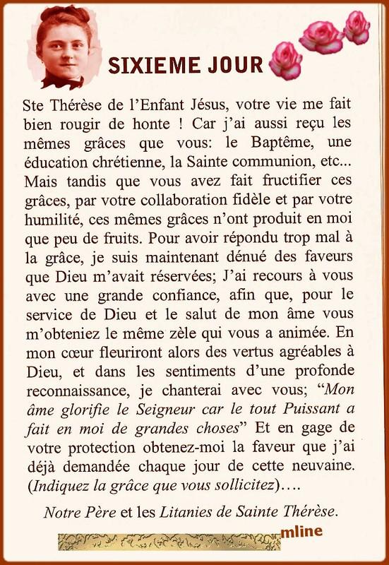 Neuvaine à Sainte Thérèse de Lisieux (22 Septembre / 1er octobre) E620a464