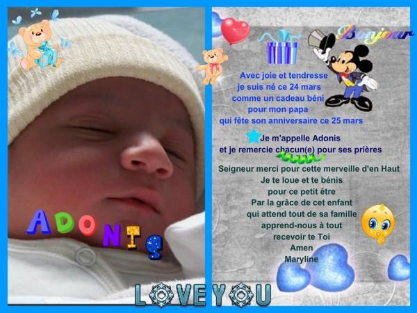 Connu Prière des parents pour le nouveau né - quoi de nouveau image de  CC86