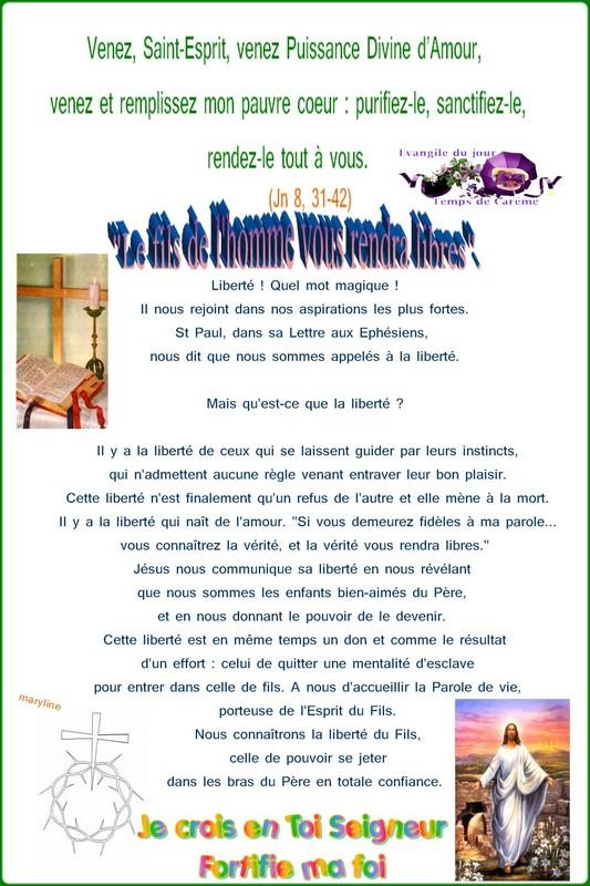 """5ème semaine de Carême  """"Bonne Nouvelle de Jésus Christ Paroles/méditations/Prières"""" E7b1d0a7"""
